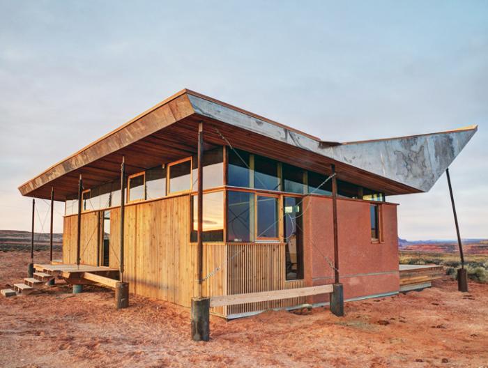 Skow Residence - дом с «сомбреро».