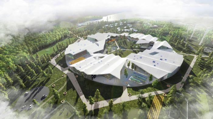 Smart School Meadow - концепт школы в Иркутске.