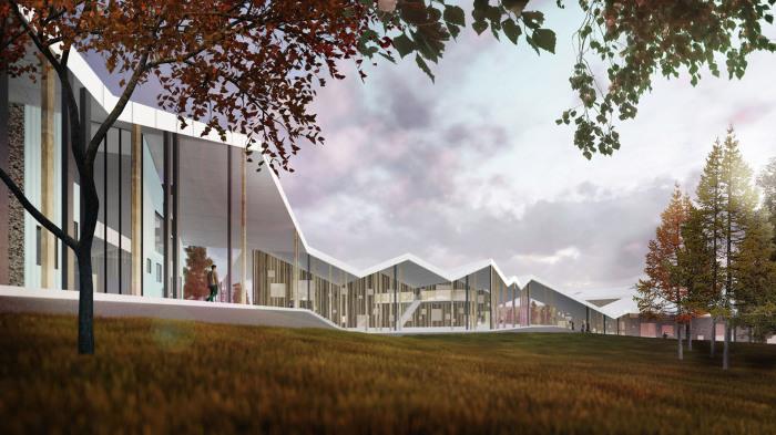 Архитекторский проект компании CEBRA.