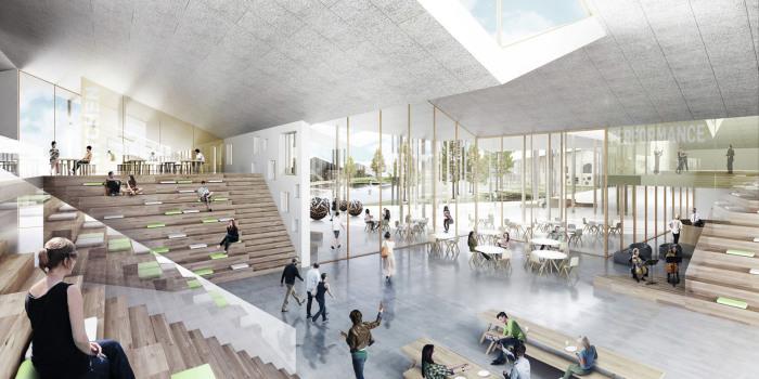 Smart School Meadow- многофункциональное образовательное пространство.