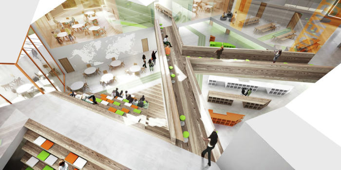 Smart School Meadow - Интерьер.