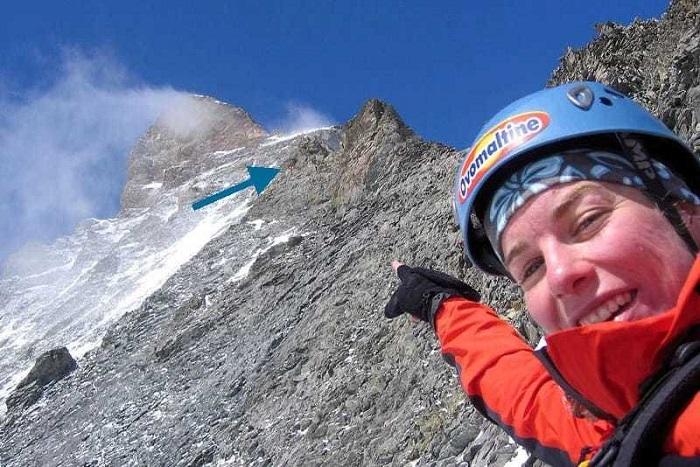 На высоте 4003 метров находится убежище для альпинистов.