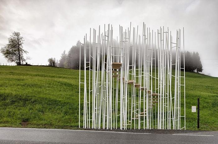 Остановка от архитектора Sou Fujimoto