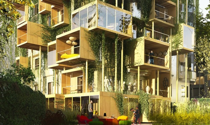 Архитекторский проект фирмы Malka Plug-in City 75.