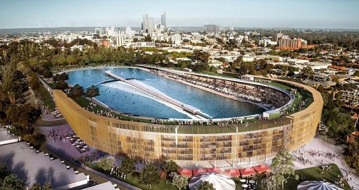 В Австралии перестроят футбольный стадион в многофункциональный комплекс с бассейном, квартирами и парком.