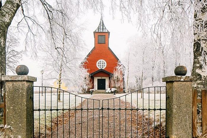 Жилой дом, переделанный из часовни.