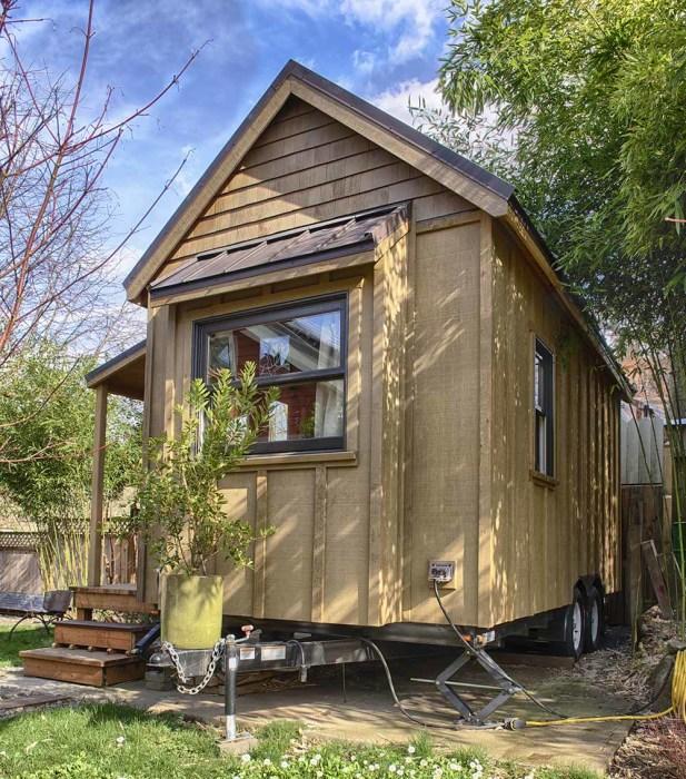 Дом на колесах Sweet Pea Tiny House.