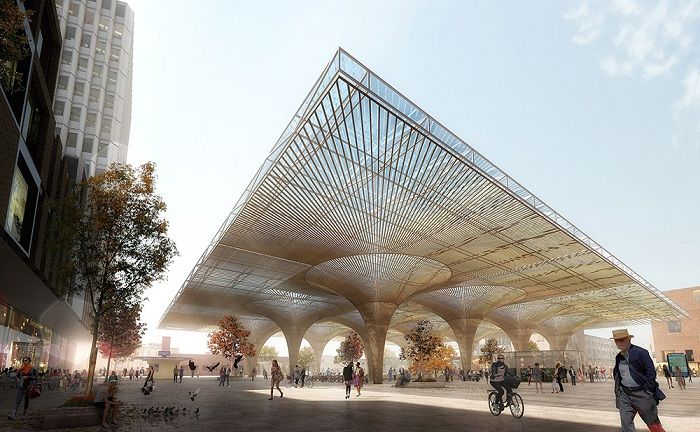 Проект архитектурных бюро COBE и Lunden Architecture.