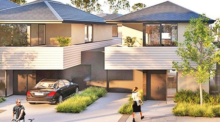 В каждом доме эко-города будет установлен аккумулятор Tesla PowerWall.