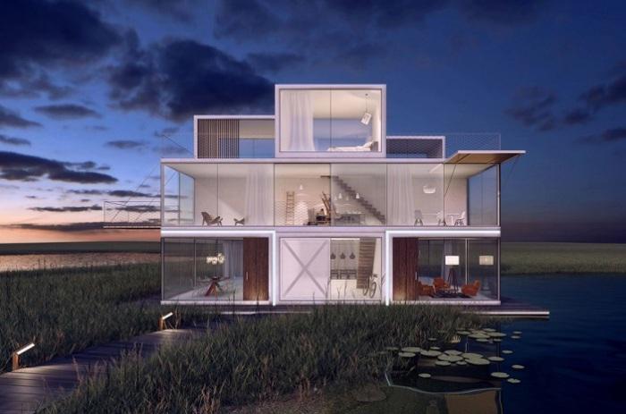 Архитекторский проект дизайн-студии Universe Architecture.