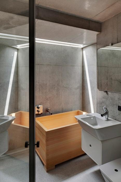 Деревянная ванная - офуро.