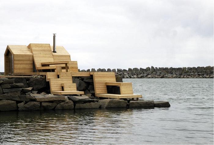 Архитекторский проект студентов школы the Oslo School of Architecture and Design.