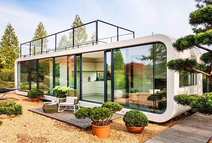 Coodo - модульный дом.