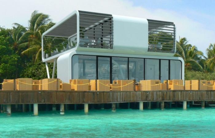 Coodo - дом из двух модулей.