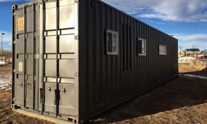 The Intellectual Tiny Home - дом из контейнера.