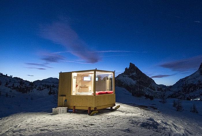 Проект кабинки на санках от Raniero Campigotto