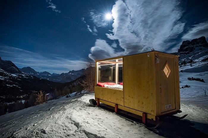 Starlight Room - кабинка для романтических ночей.