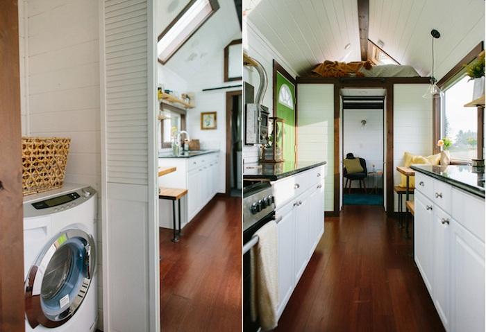 Micro-house.  Оздоблення з натуральних дорогих матеріалів.