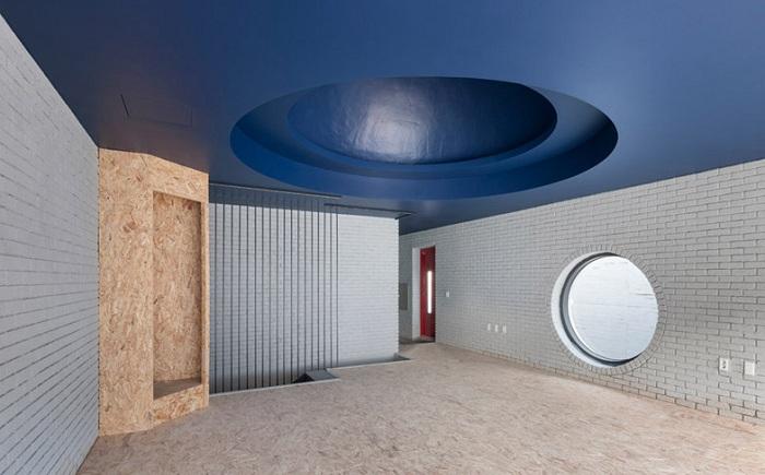 Культурный центр Two Moon. Вид изнутри.