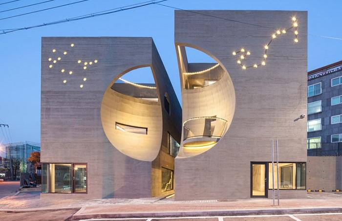 Проект южнокорейской архитектурной фирмы Moon Hoon.