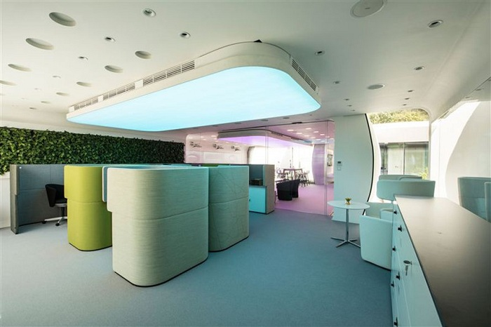 Office of the Future. Фойе.