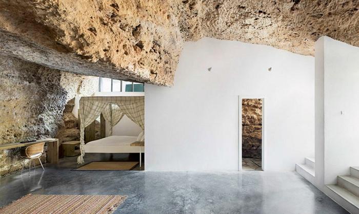 Cuevas del Pino. Интерьер.