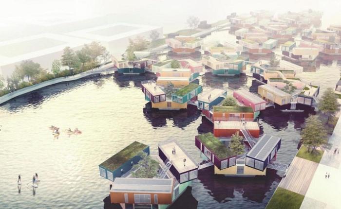Urban Rigger - жилища на воде.