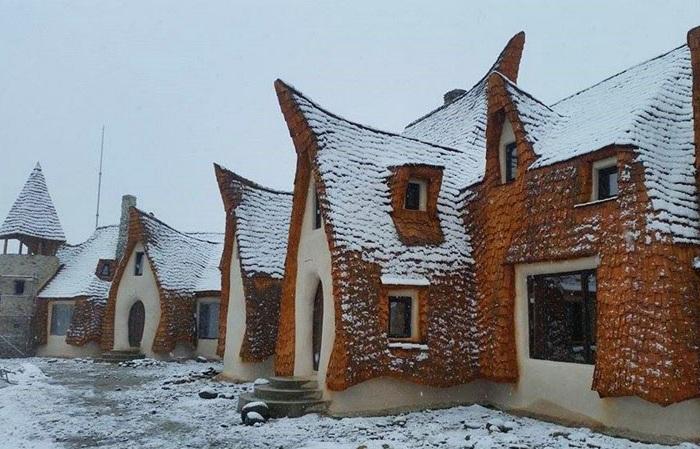 Отель в Сибиу (Румыния).