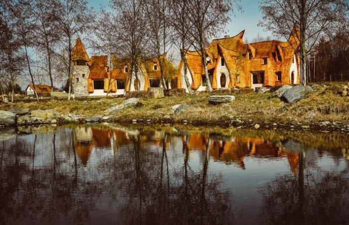 Потрясающий отель в Сибиу (Румыния).