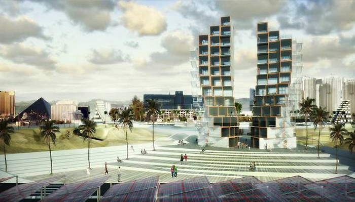 Архитекторский концепт фирмы M-Rad.