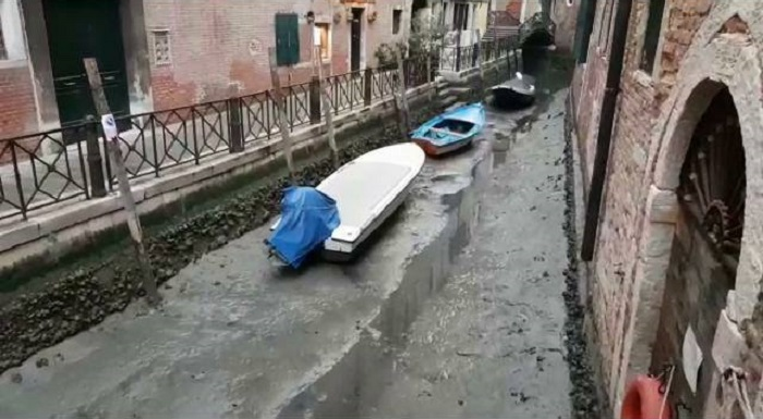Природный катаклизм в Венеции.