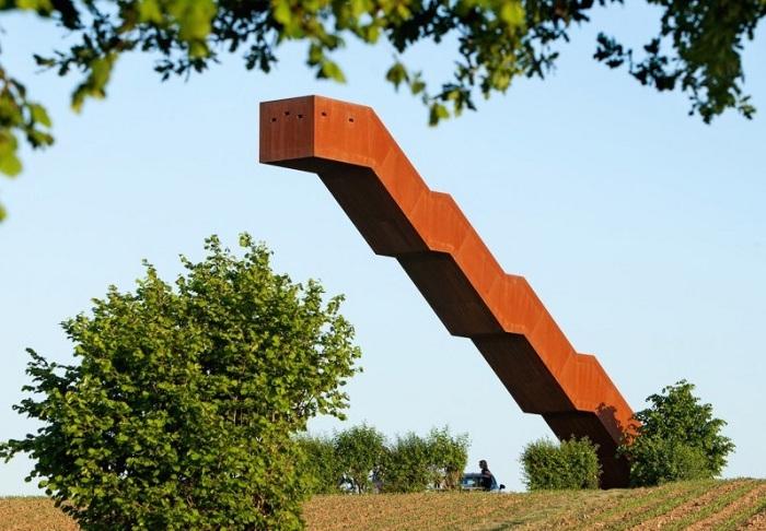 Vlooyberg Tower - смотровая площадка в Бельгии.