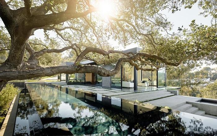 Oak Pass House - шикарный особняк в Южной Калифорнии.