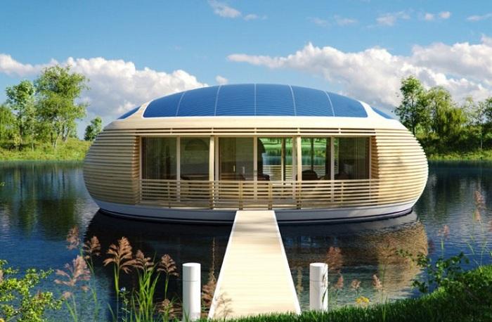 WaterNest - домик на воде.