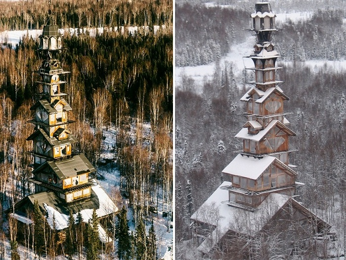 «Dr. Seuss House» - дом на Аляске.