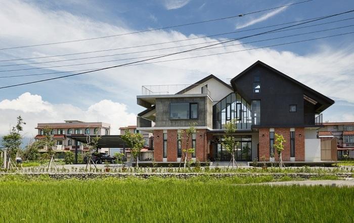 Swallow House - дом на Тайване.