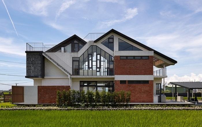 Swallow House - загородный дом на Тайване.