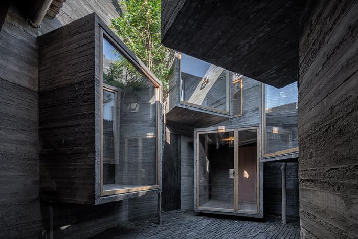 Миниатюрный хостел в Пекине (Китай).
