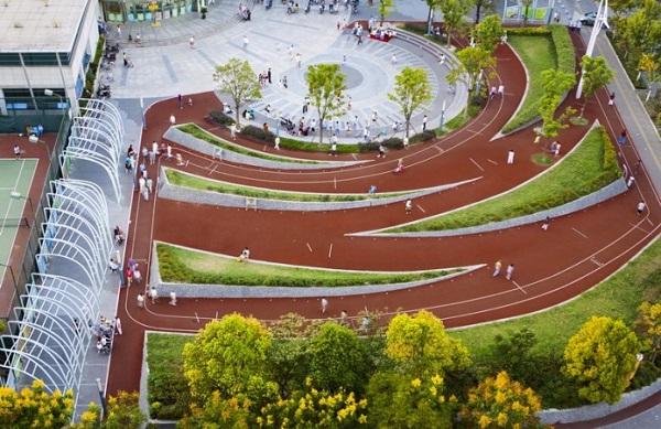 Тренировочный парк Шанхая.
