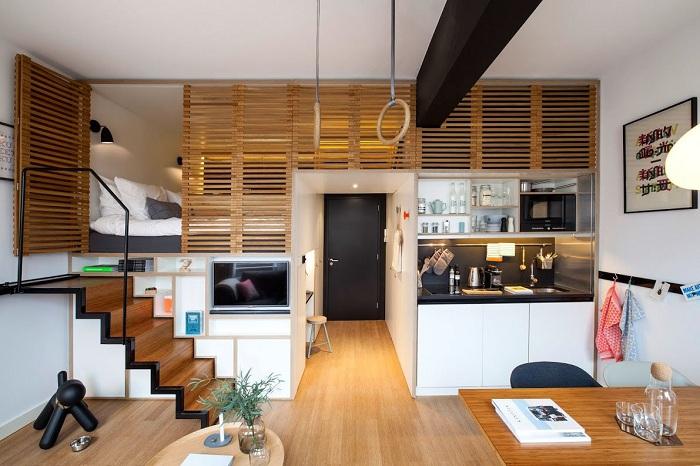 Zoku Loft - гибрид отеля и однокомнатной квартиры.