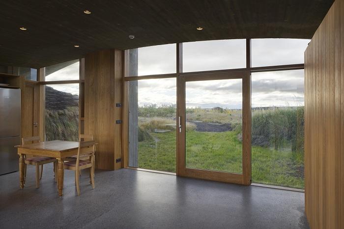 Дом в Исландии. Интерьер.