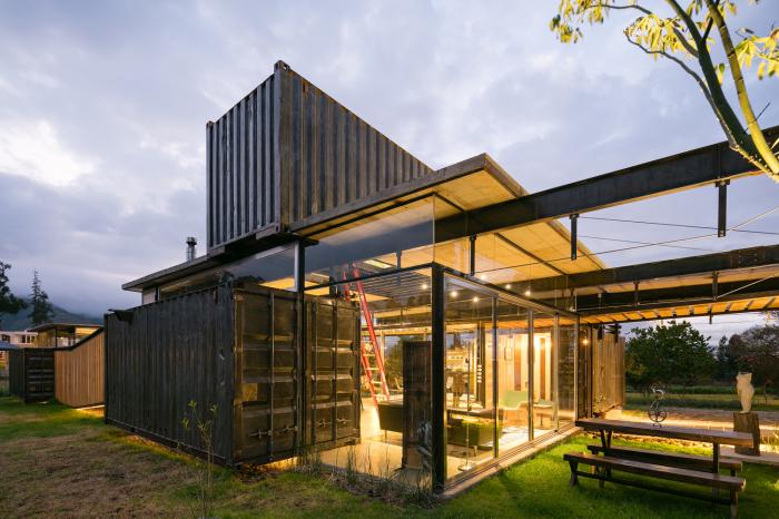 RDP House - дом из контейнеров.