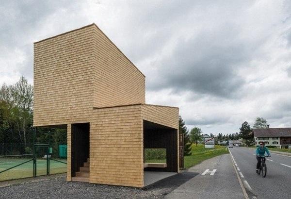 Остановка от архитекторов из Норвегии.