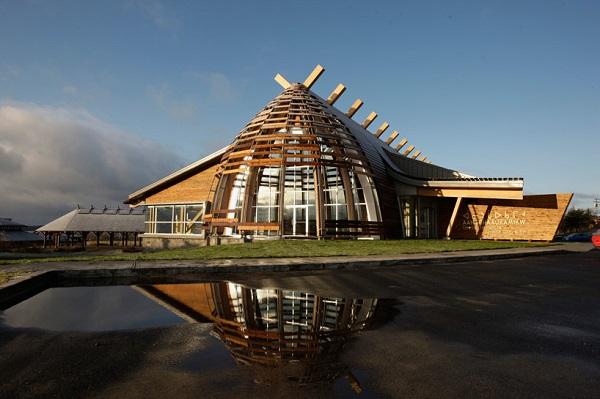 Культурный центр индейцев кри в Канаде.