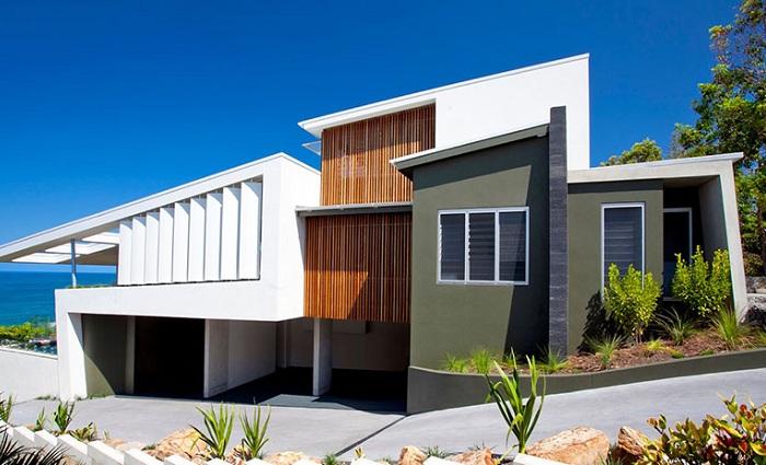 The Coolum Bays Beach House - жилой особняк на австралийском побережье.