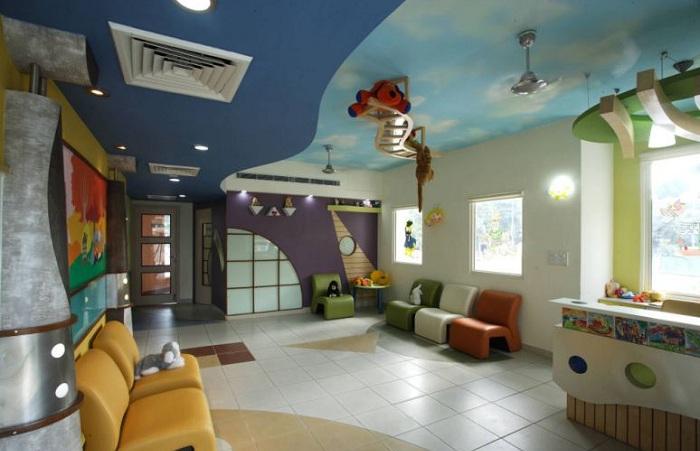 Игровая комната в дошкольном учреждении Aadharshila Vatika.