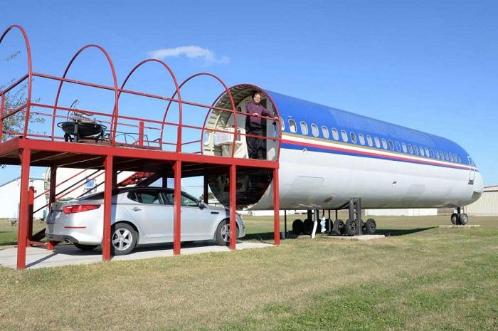 Жилой самолет.