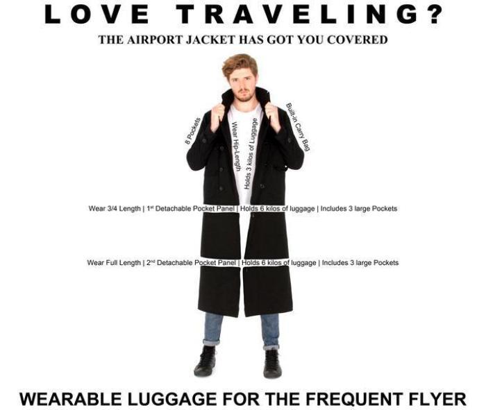 Дизайн пальто-трансформера, разработанный австралийцами Andy Benke и Claire Murphy.