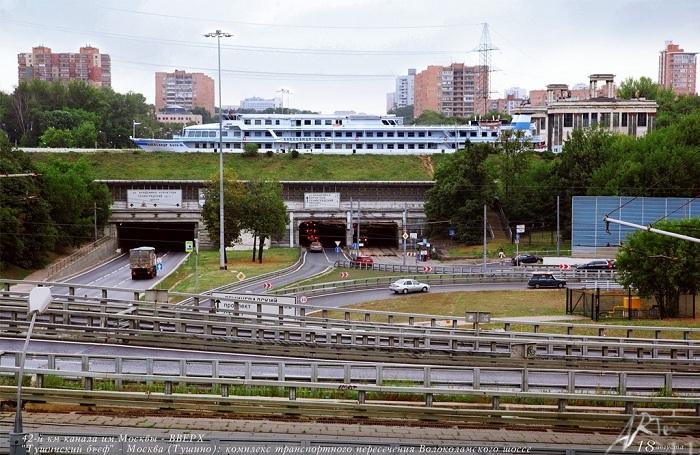 Комплекс транспортного пересечения Волоколамского шоссе.