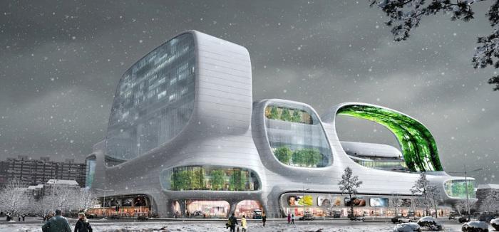 Проект архитектурной фирмы AmphibianArc.